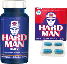 Erection Aids Pack 7 - Hard Man + Hard Man Daily - save 18%