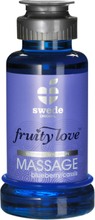 Swede - Fruity Love Warming Massage Blueberry/Cassis 100 ml