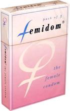 Femidom Kvinnlig Kondom 3 st