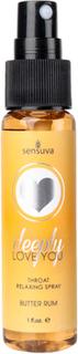 Sensuva - Throat Relaxing Spray Butter Rhum