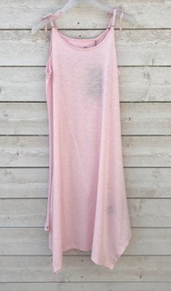 Pelle P W Tie Dress, Soft Pink (Storlek: Medium)