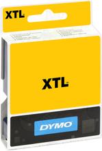 DYMO XTL Tejp Flerfunktionsvinyl 12mm Svart på transparent