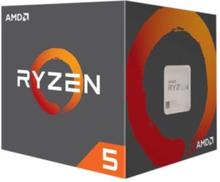 Ryzen 5 1600 (AF) Wraith Stealth CPU - 6 kerner 3.2 GHz - AM4 - Boxed (PIB - med køler)