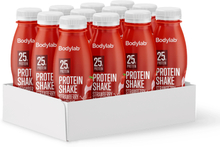 Bodylab Protein Shake (12 x 330 ml) - Strawberry Milkshake