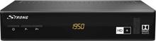 Strong SRT 7806 HD+ DVB-S2 mottagare Campingdrift, Passande kabel, Front-USB, Ethernet-anslutning, Kortläsare, inklusive HD+ kort Antal tuner: 1