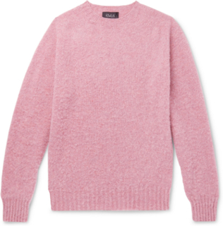 Birth Of The Cool Brushed Virgin Wool Sweater - Pink