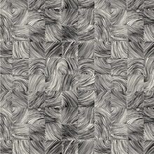 Kubb tyg lilywhite-grå