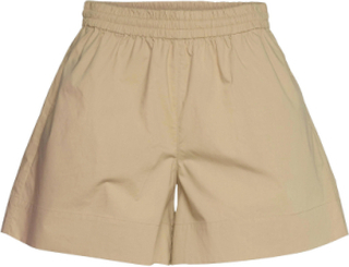 Tine Andrea & Darja X Second Female Brooklyn Shorts Shorts Flowy Shorts/Casual Shorts Beige Second Female