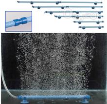 Röhre auf Wand zu Luftbläschen Ausströmer in Blau für Aquarium Fischkalter in Größe von 7'' 10'' 14'' 18'' 23'' 28''