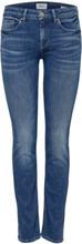 ONLY Onlfeva Reg Slim Fit Jeans Women Blue