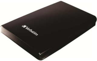 Store'n'Go Portable Black - Ekstern Harddisk - 1 TB - Sort