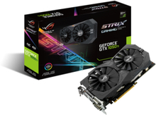 GeForce GTX 1050 Ti ROG STRIX OC - 4GB GDDR5 RAM - Grafikkort