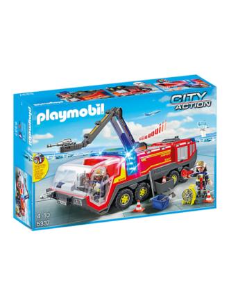 - City Action - Lufthavnsbrandbil med lys og lyd - Proshop
