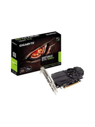 GeForce GTX 1050 Ti OC Low Profile - 4GB GDDR5 RAM - Grafikkort