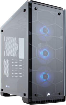 Crystal 570X RGB Black - Chassi - Miditower - Svart