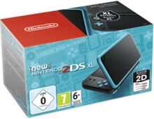 New 2DS XL - Black & Turquoise