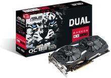 Radeon RX 580 DUAL OC - 8GB GDDR5 RAM - Grafikkort