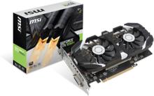 GeForce GTX 1050 Ti T OC - 4GB GDDR5 RAM - Grafikkort