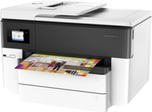 Officejet Pro 7740 All-in-One Blækprinter Multifunktion med Fax - Farve - Blæk