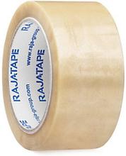PVC-Packband RAJA, transparent 50 x 100m