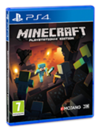 Minecraft - PlayStation 4 - Toiminta