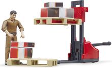 Bruder Logistikset med Figur och Palltruck 62210