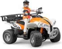 Bruder Fyrhjuling med Figur 63000