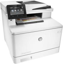 LaserJet Pro MFP M477fdn Laserprinter Multifunktion med Fax - Farve - Laser