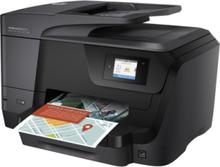 Officejet Pro 8715 All-in-One Blækprinter Multifunktion med Fax - Farve - Blæk