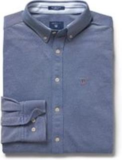 Blå Gant Tech Prep Skjorte Regulær Passform Skjorte