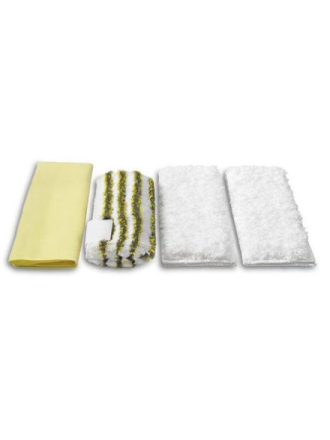 Damprenser Microfibre Cloth Kit for Bathroom