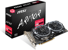 Radeon RX 580 ARMOR OC - 8GB GDDR5 RAM - Grafikkort