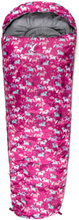 Arctic Tern Kids Dot Sleeping Bag Barn Sovsäck Rosa OneSize
