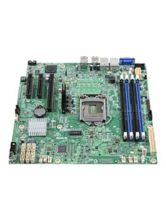 Server Board S1200SPS Bundkort - C232 - LGA1151 socket - DDR4 RAM - Micro-ATX