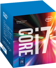 Core i7-7700 Kaby Lake CPU - 3.6 GHz - LGA1151 - 4 ydintä - Boxed