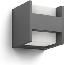 Arbour wall lantern anthracite 2x4.5W