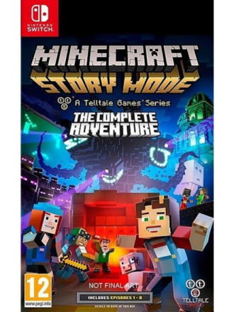 Minecraft: Story Mode: The Complete Adventure - Nintendo Switch - Adventure - Proshop