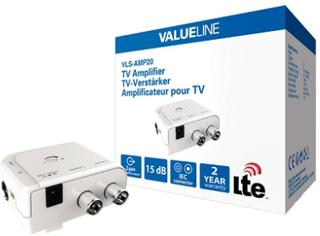 Valueline TV-förstärkare - 2 Outputs