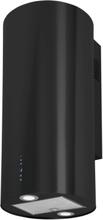Vägghängd cylinder köksfläkt BALTIC 40 cm vit / svart/ rostfritt stål - rosrfritt stål - 40 cm