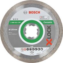 Bosch Standard for Ceramic Diamantkapskiva med X-LOCK 125 × 22,23 × 1,6 x 7 mm