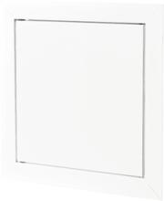 Duka inspeksjonsluke med magnetlås, 500x500, hvit