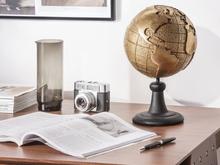 Beliani Dekoration glob guld EARTH