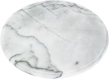 Judge Ostbord 30 cm Marmor Vit