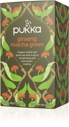 PUKKA - Ginseng Matcha Green