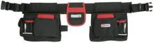 KS Tools Professionellt verktygsbälte svart och röd