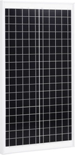 vidaXL Solpanel 30 W polykristallin aluminium och säkerhetsglas