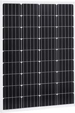 vidaXL Solpanel 100 W monokristallin aluminium och säkerhetsglas