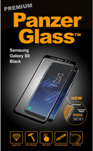 Samsung Galaxy S8 - Black (Premium Glass)