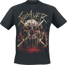 Slayer - Golden Swords -T-skjorte - svart