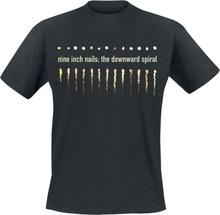 Nine Inch Nails - Downward Spiral -T-skjorte - svart